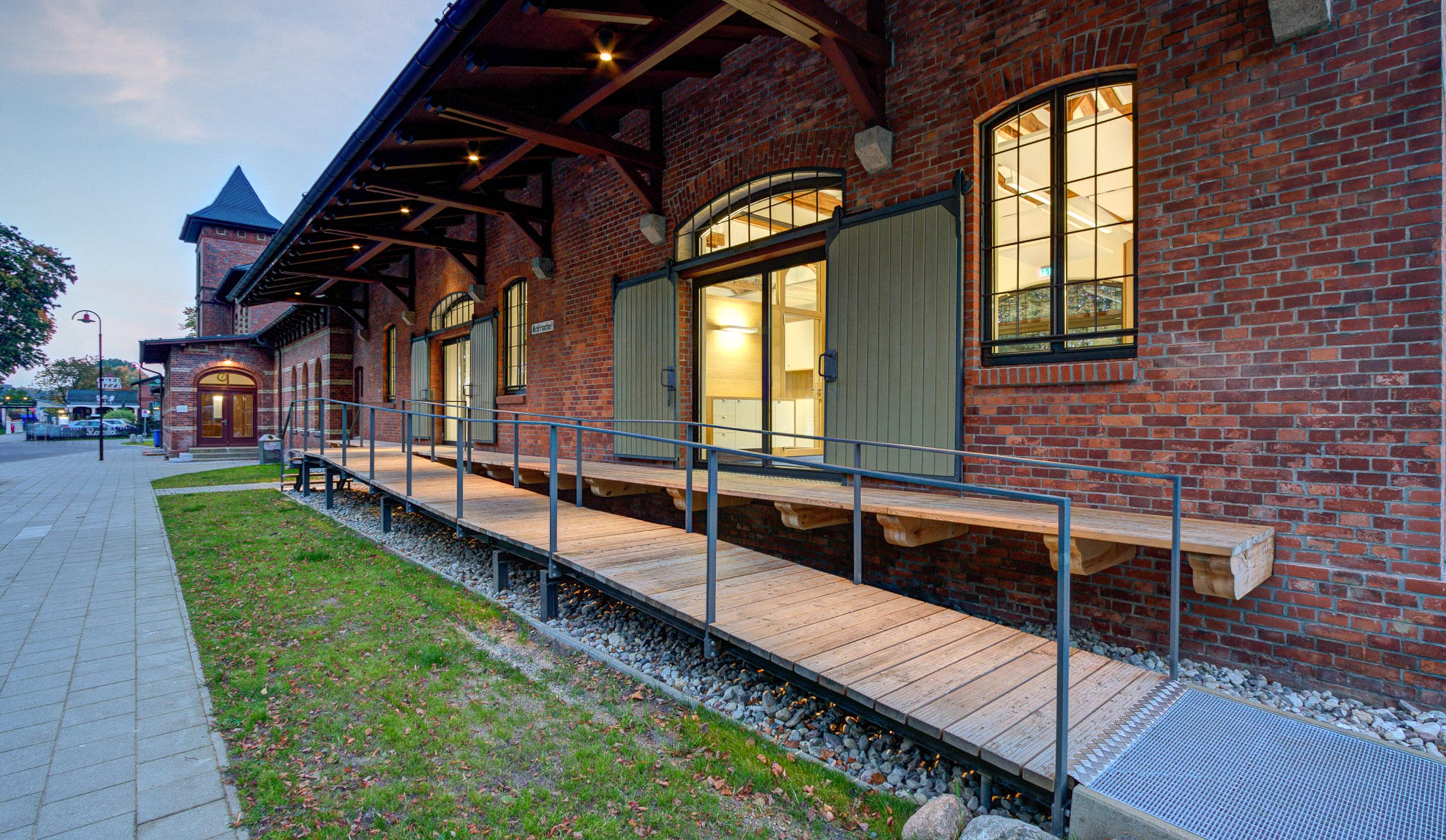 Bahnhof Putbus auf Rügen Güterboden