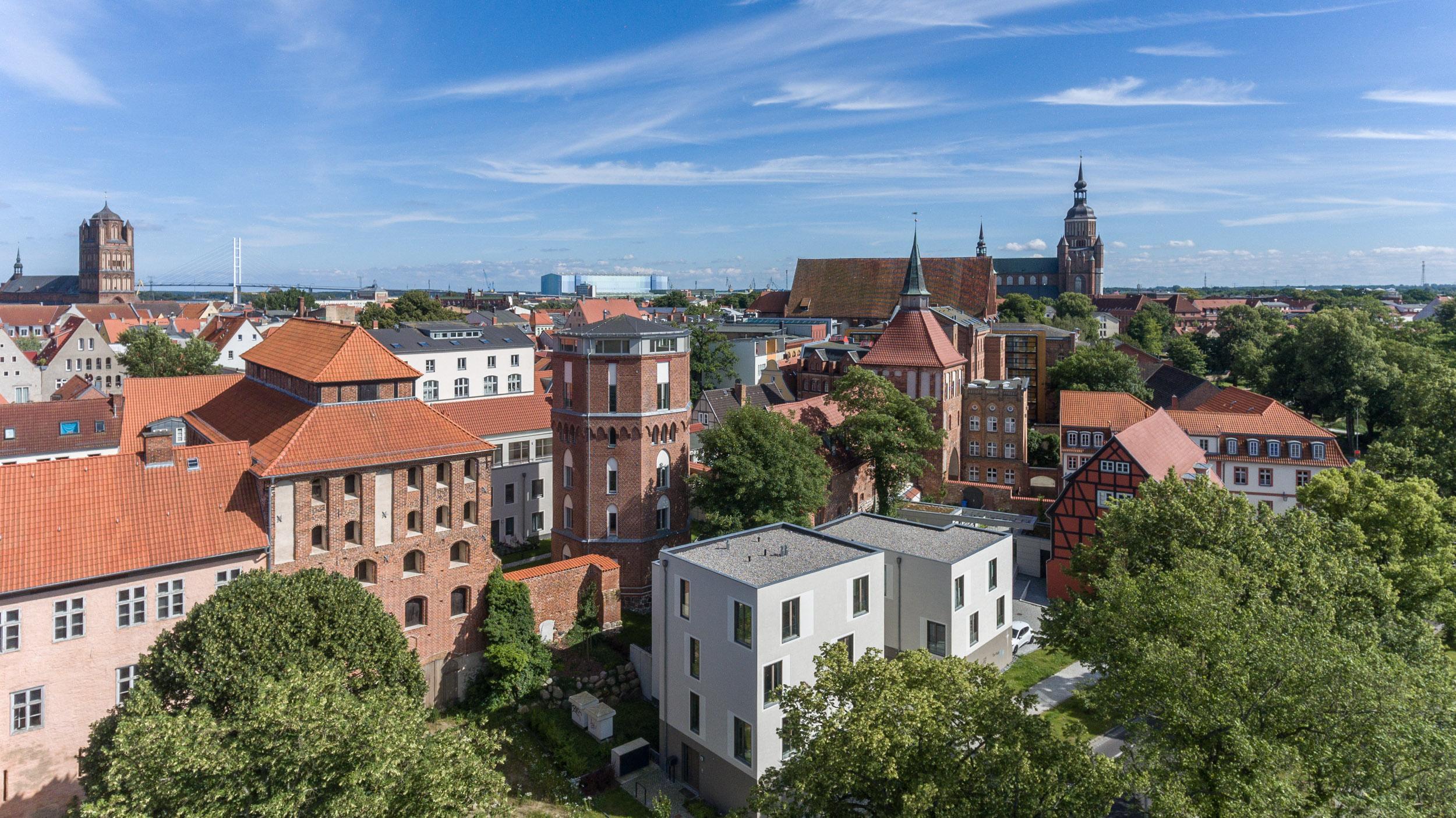 Wohnen im Areal Kütertor Stralsund