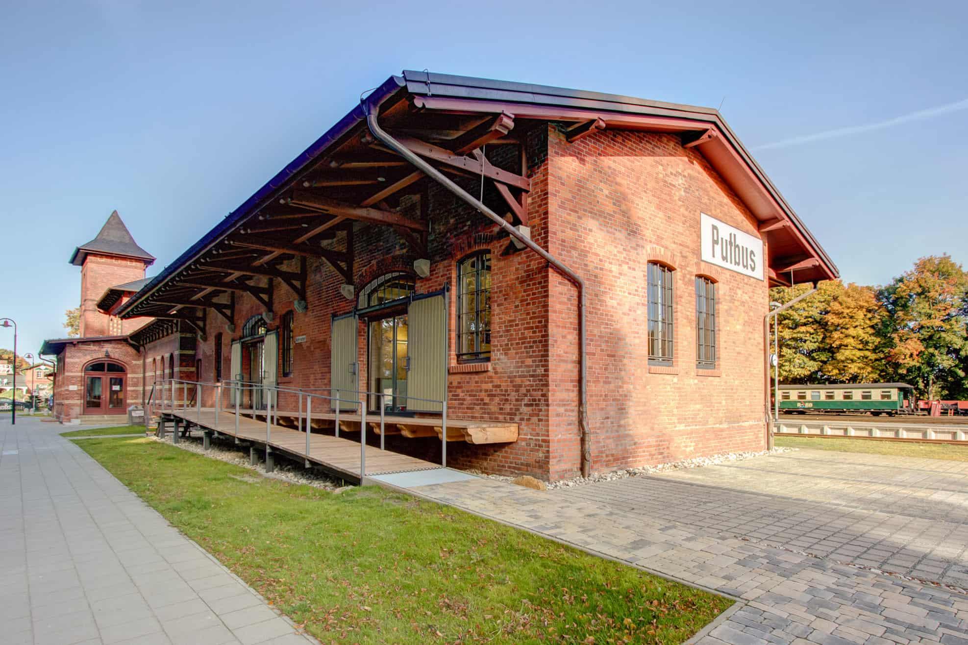 Bahnhof Putbus Verwaltung