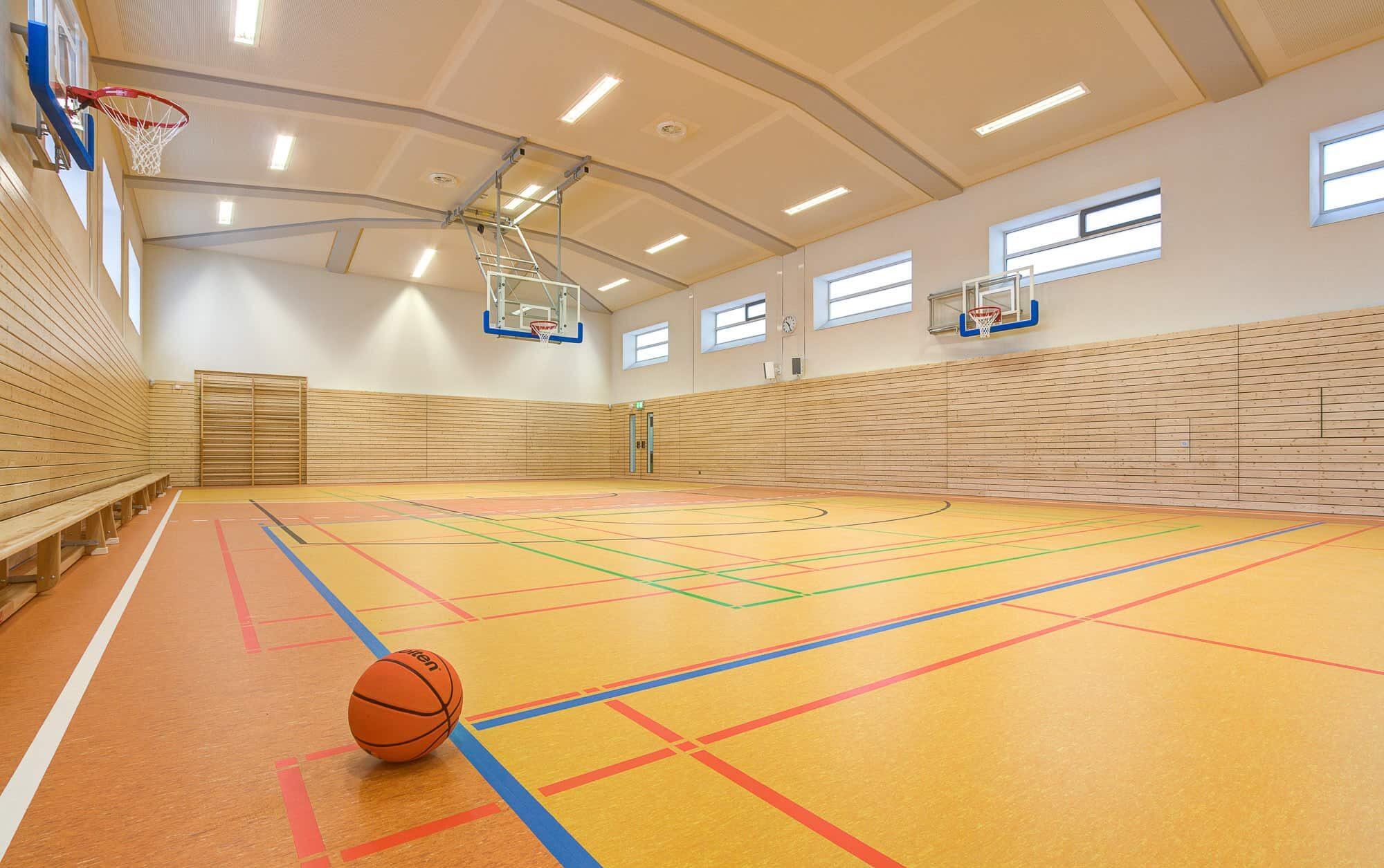 Sanierung der Sporthalle