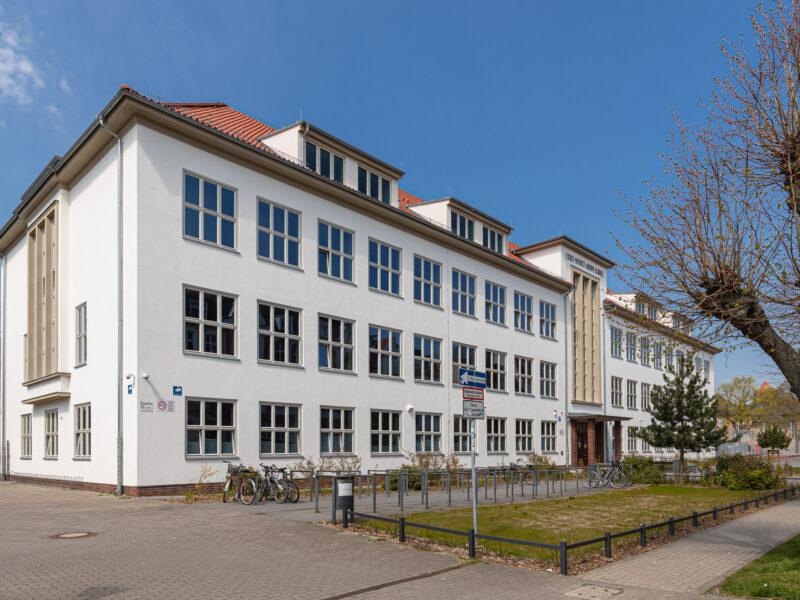 Abschluss der Sanierungsarbeiten in der EMA Schule Greifswald