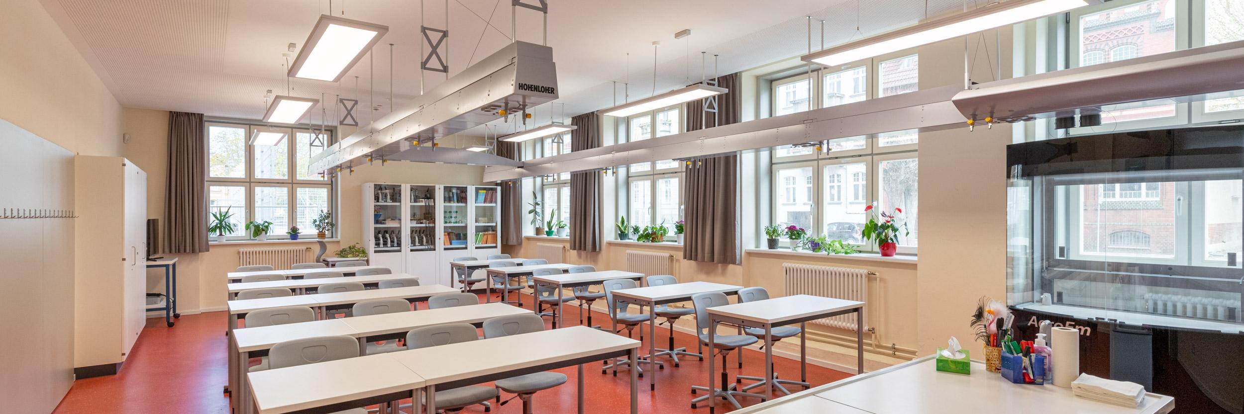 Ernst Moritz Arndt Schule Greifswald - Neuer Chemieraum
