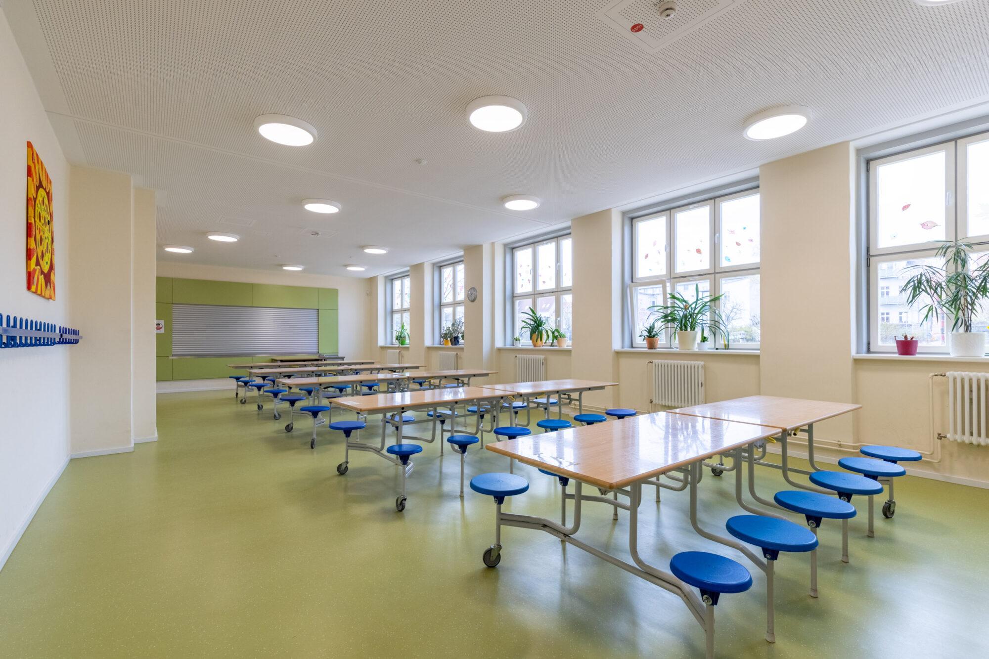 Essenraum der EMA Schule