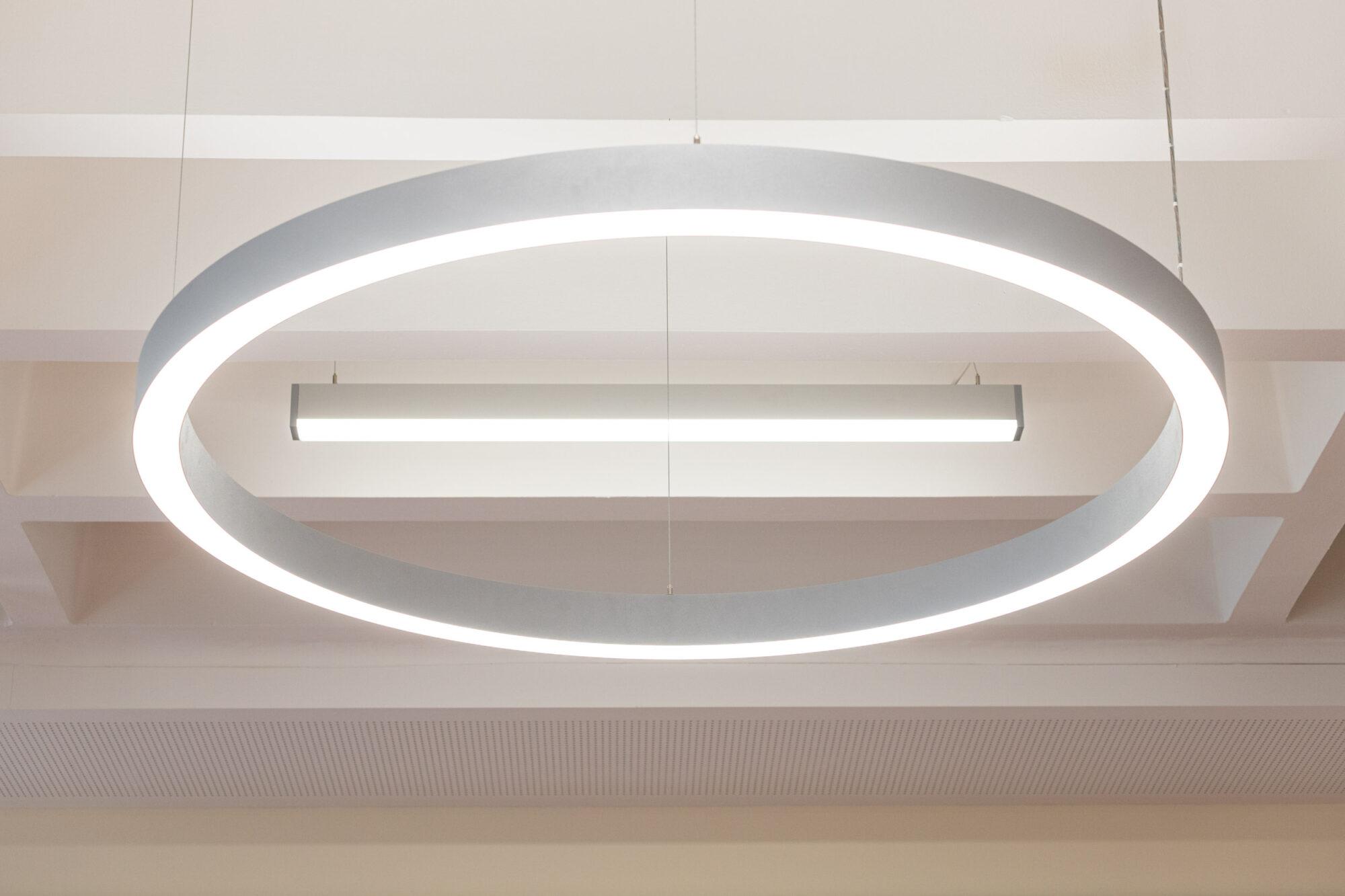 Aula - Beleuchtung