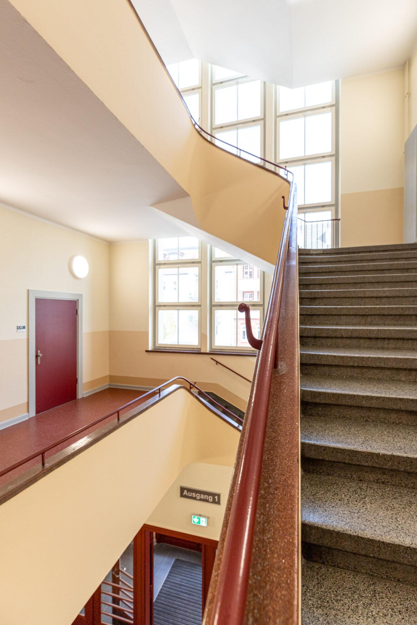 Treppenhaus der Arndtsschule
