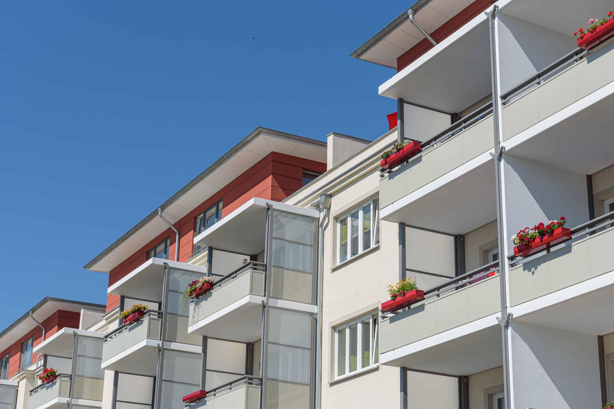 Wohnungsbau Kupfermühle Stralsund - Detail