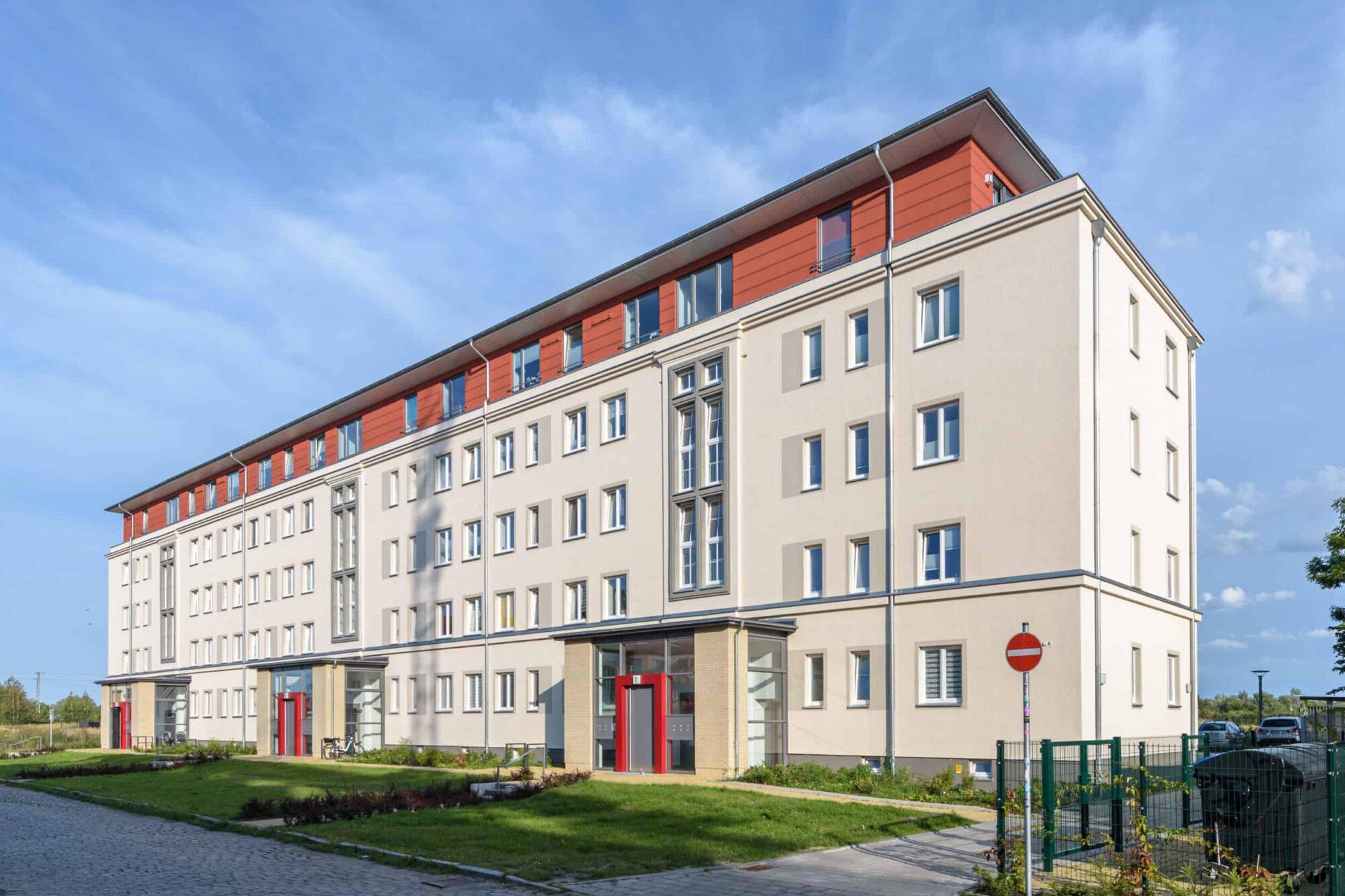 Wohnungsbau Kupfermühle Stralsund