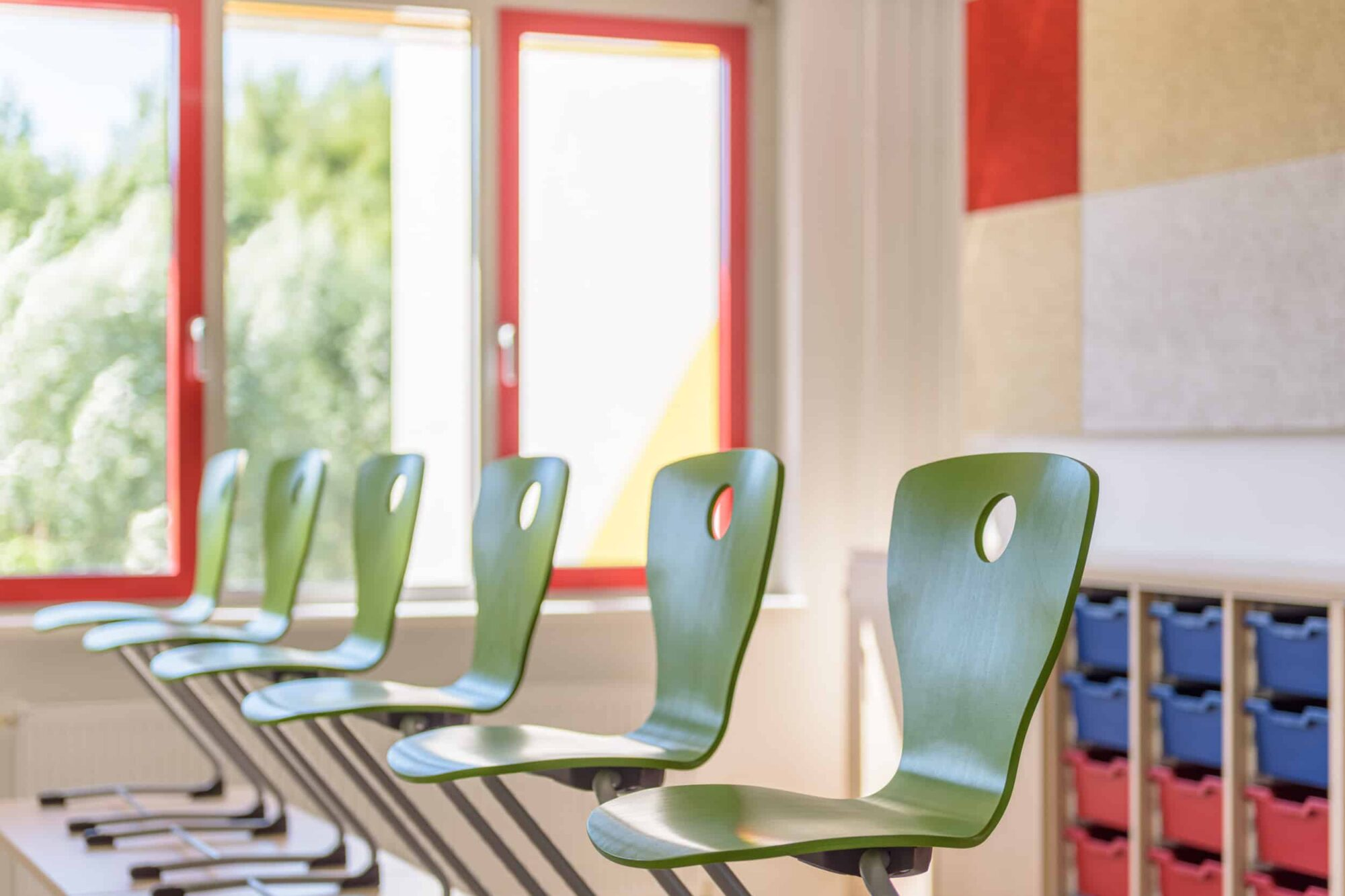 Ferdinand von Schill Grundschule Stralsund - Farbe in der Schule