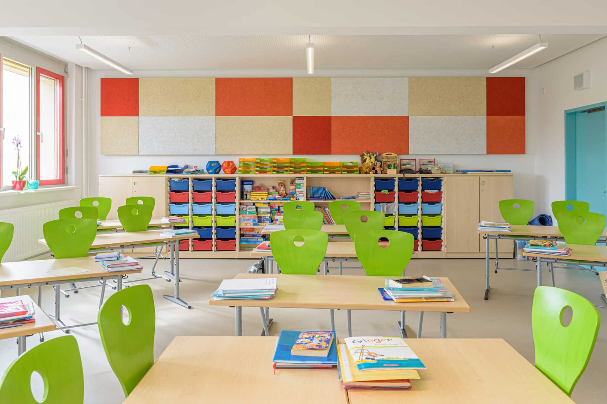 Ferdinand von Schill Grundschule Stralsund - Gestaltung eines Klassenzimmers