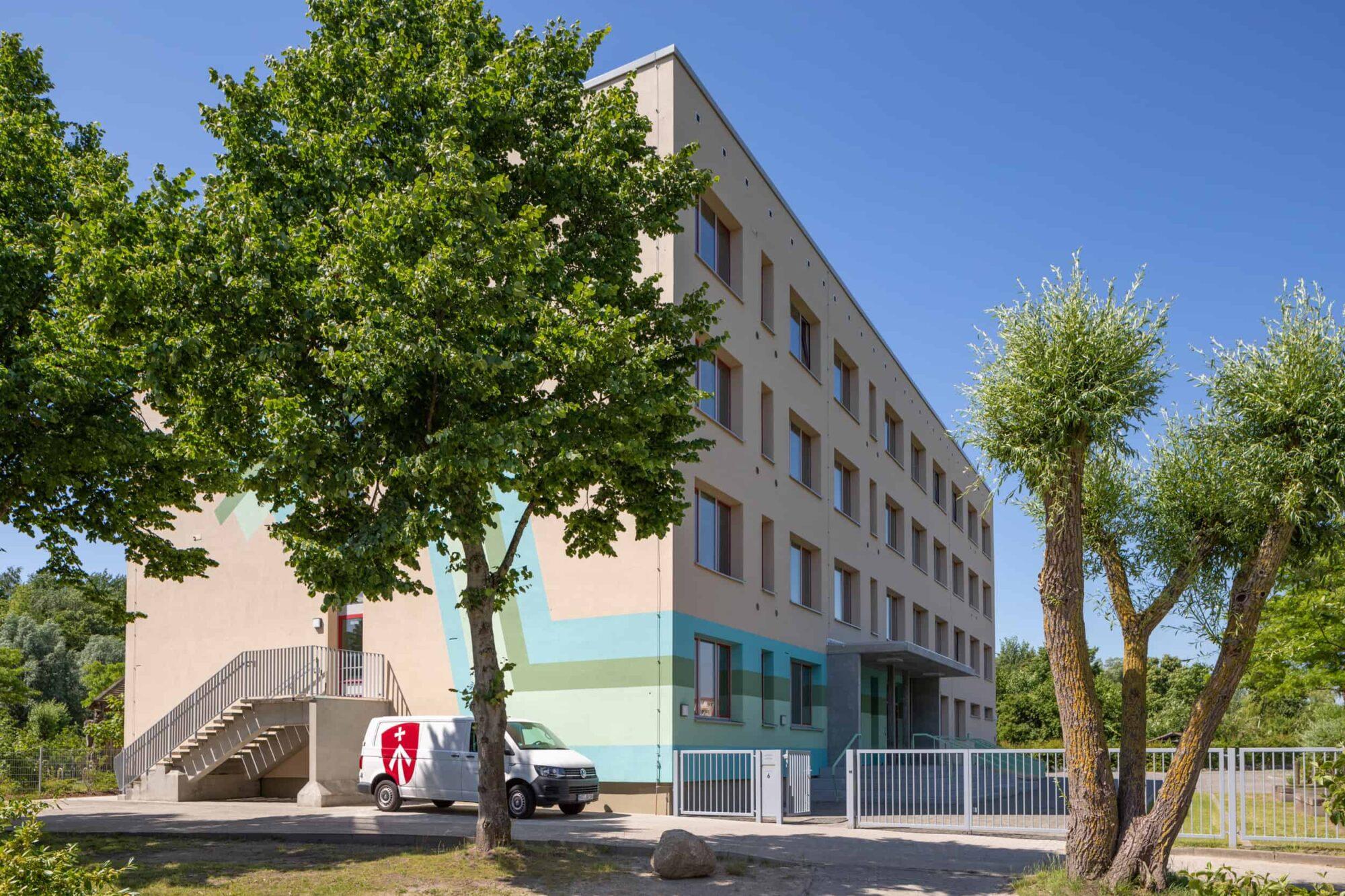 Ferdinand von Schill Grundschule Stralsund - Haupteingang