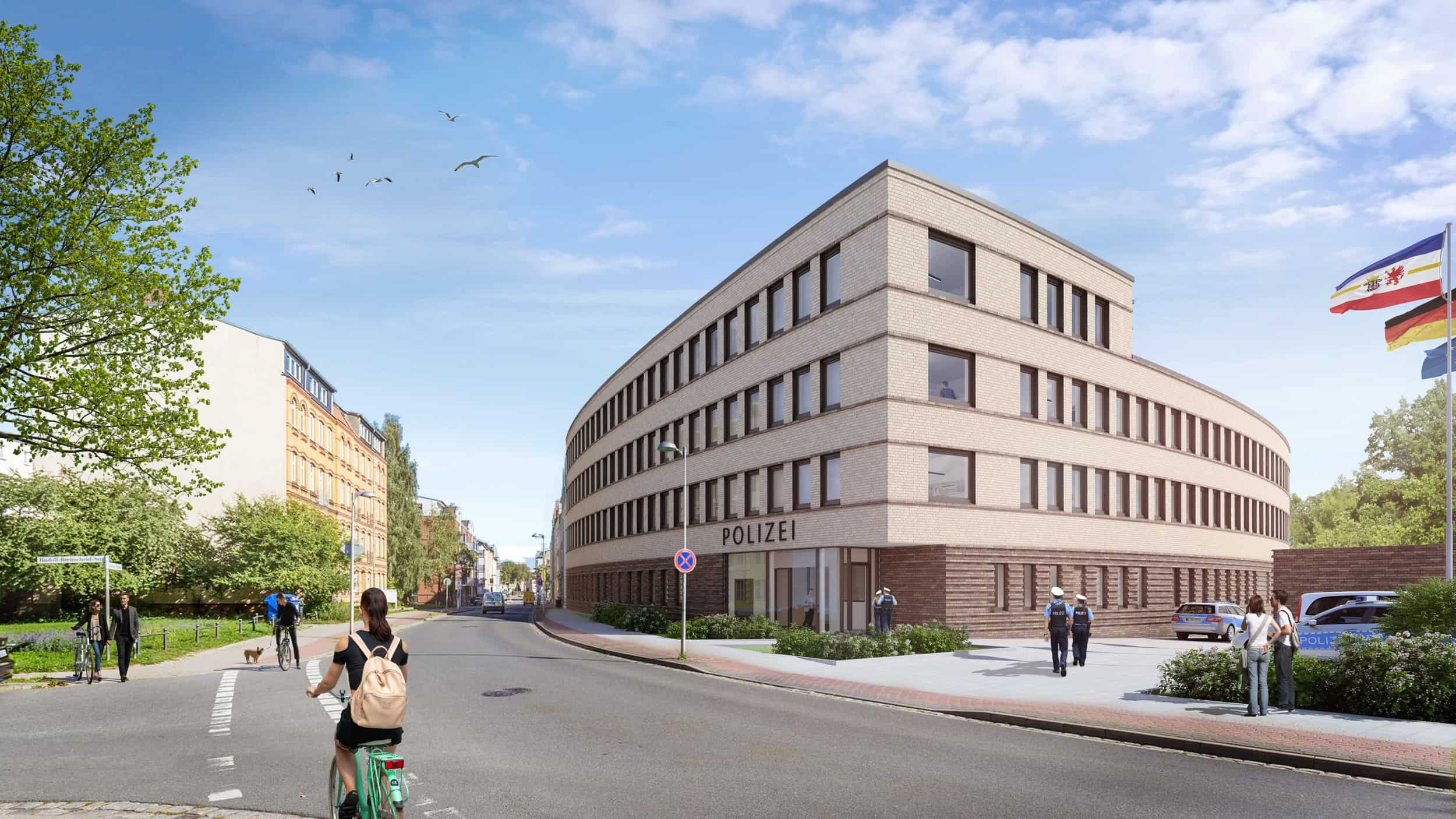 Neubau Polizeidienststelle Stralsund