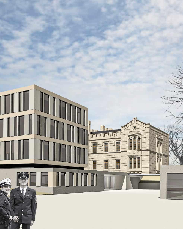 Konzept Polizeidienststelle Wismar