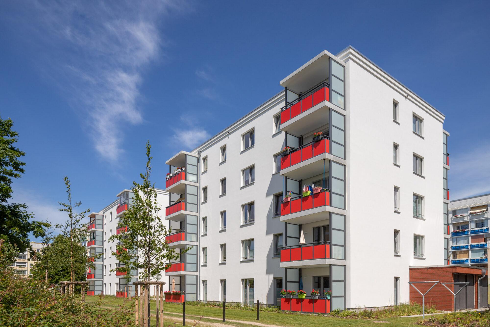 Vitus Bering Straße in Rostock, Doppelbau