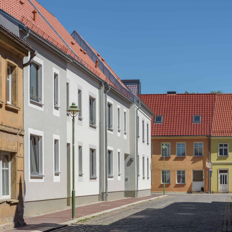 Baulicher Kontext - Quartier Demminer Tor in Altentreptow