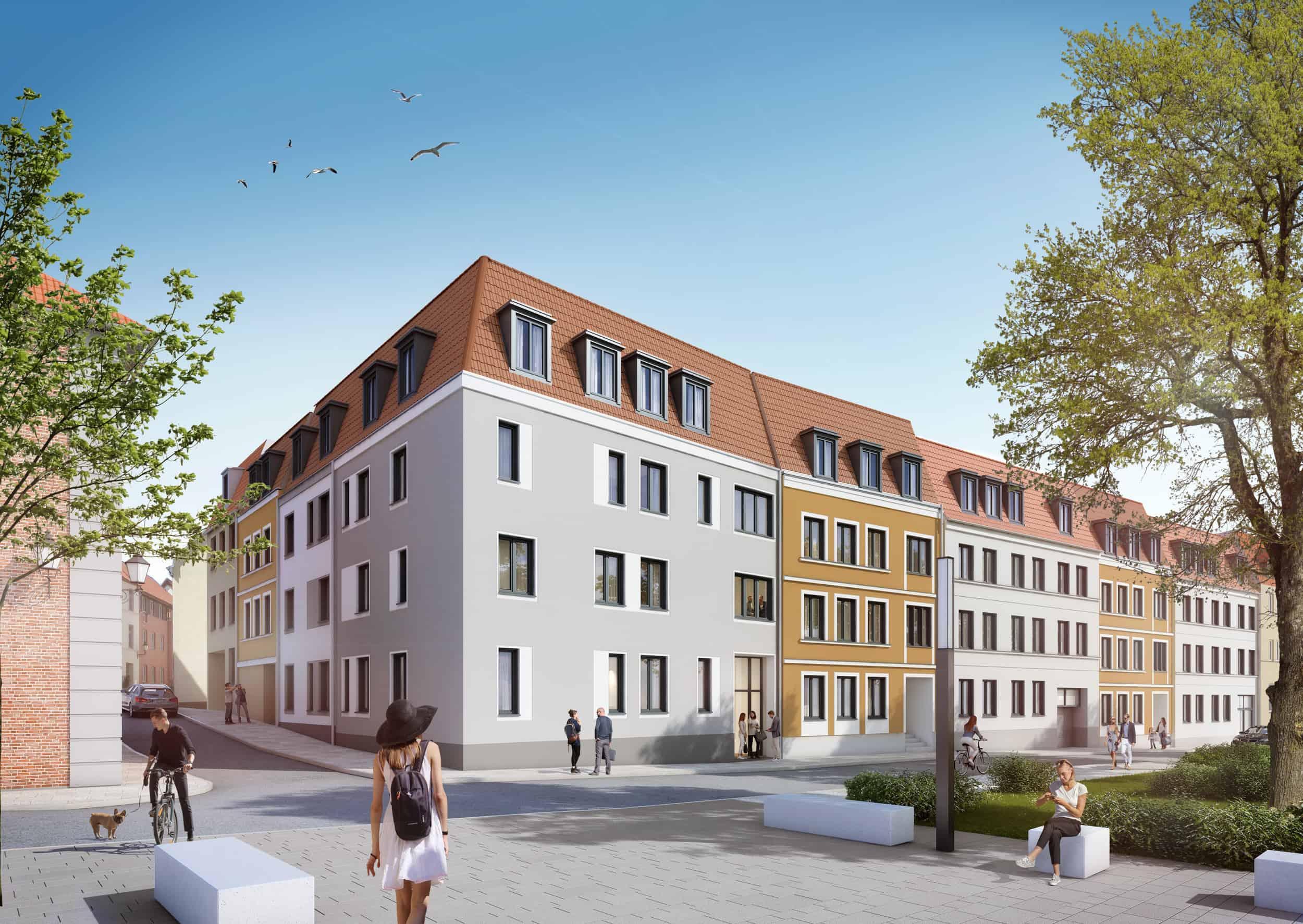 Wohnungsbau Turmstrasse Wismar