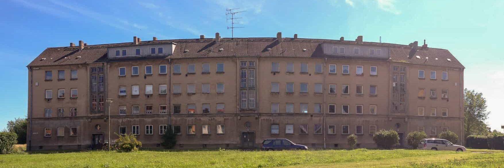 Wohnungsbau Kupfermühle Stralsund - Bestand