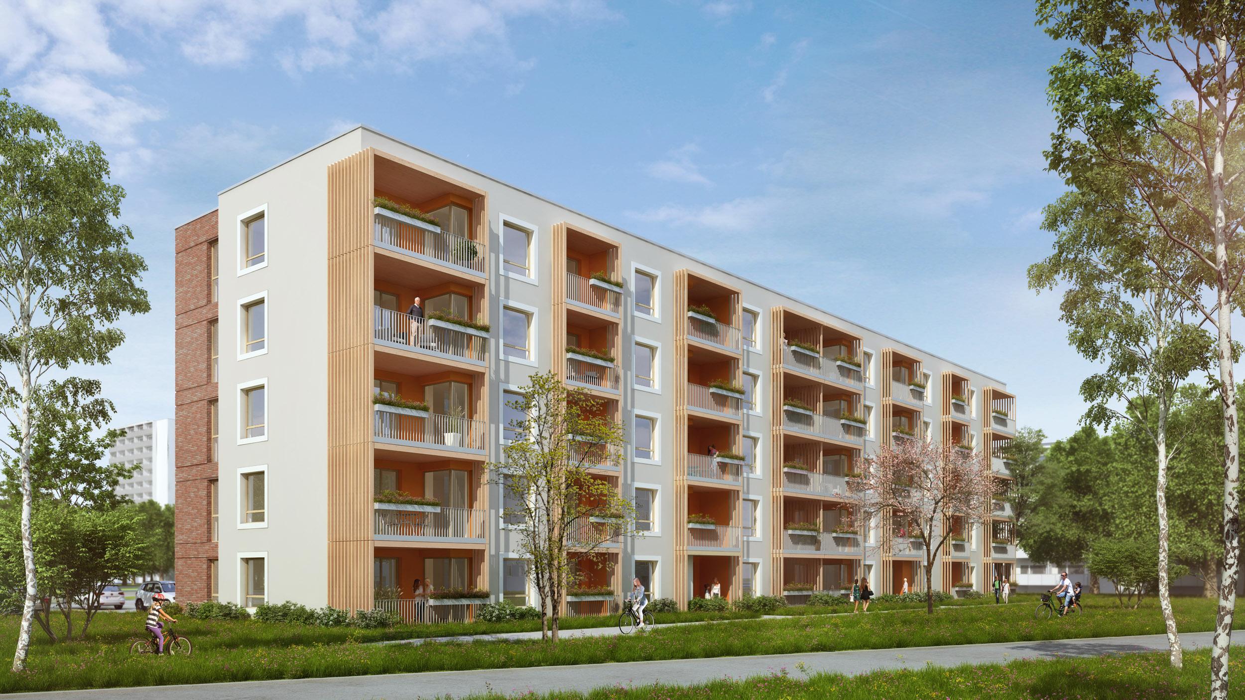 Wohnungsbau Erich-Weinert-Straße Rostock