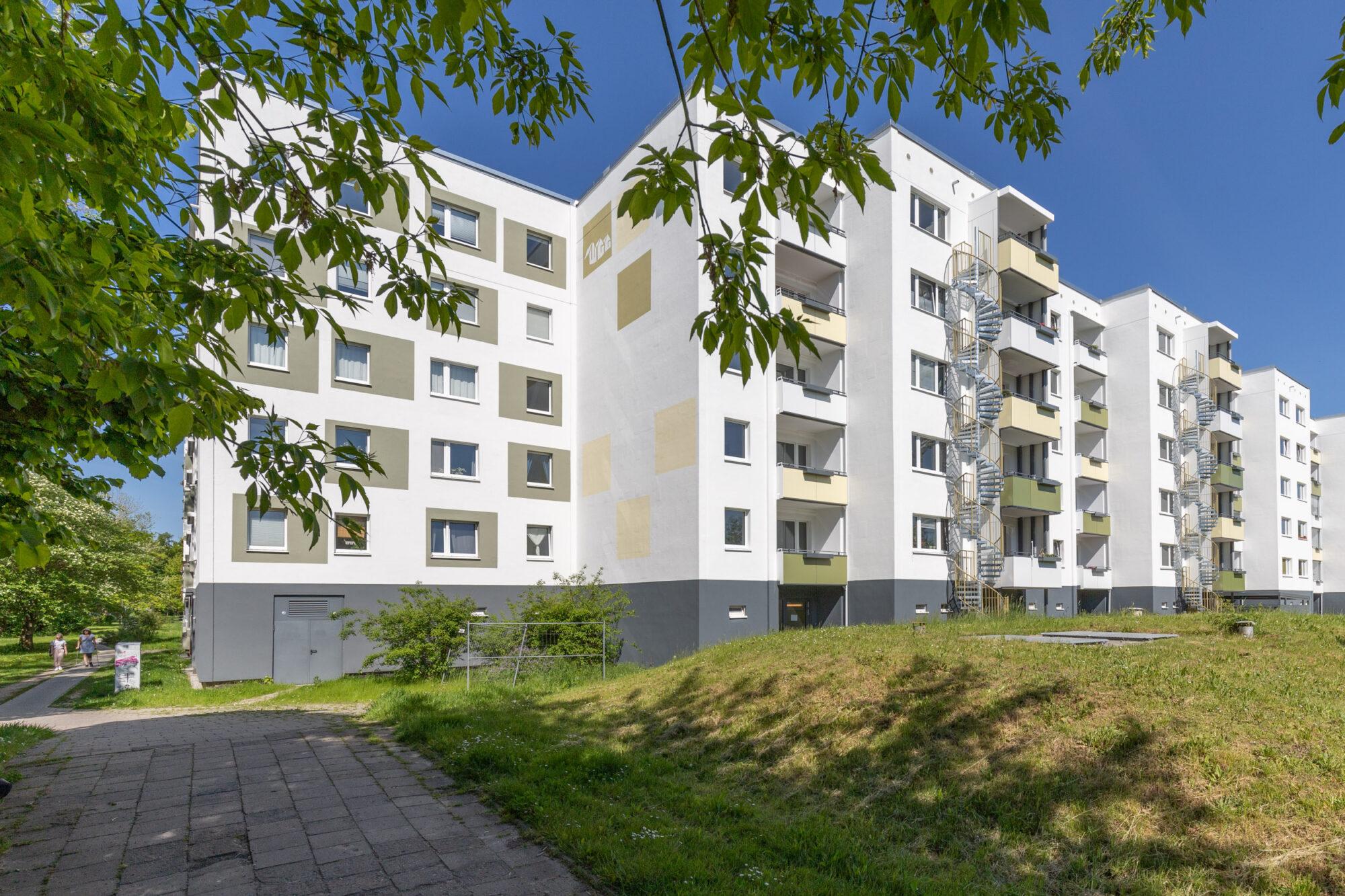 Modernisierungsprojekt Prokofjewstraße von der Anklamer Straße